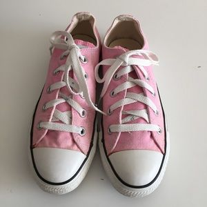 Pink All Star Converse Women Size 6